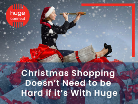 Christmas Shopping Doesn't Need to be Hard if it's With Huge