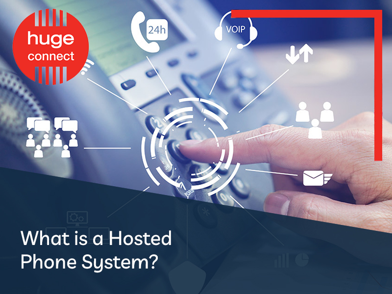 what is a hosted phone system